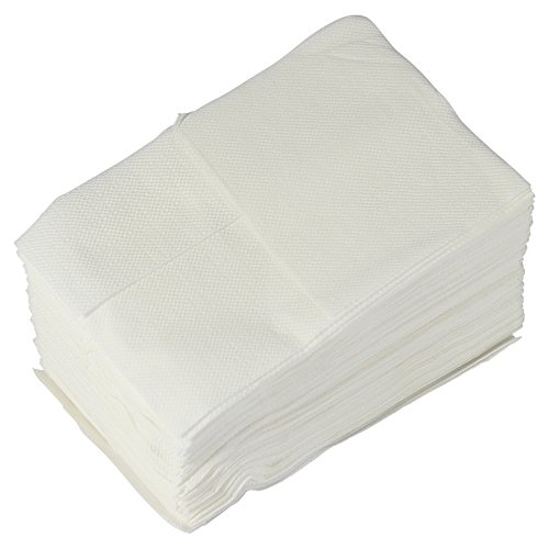 west5products 1 Paquete de 100 20 x 20 cm Servilletas de Papel para dispensador de servilletas