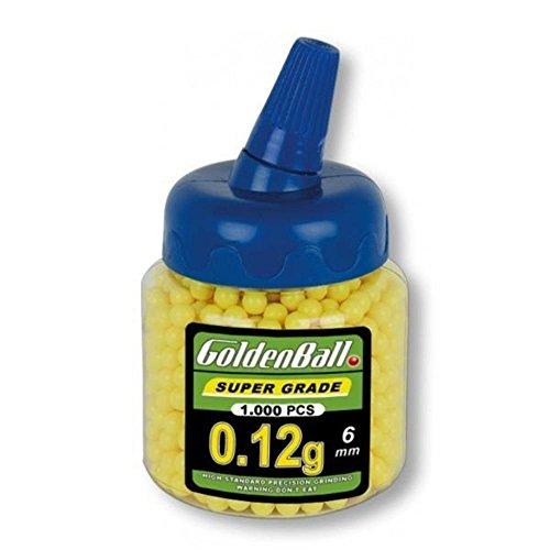 GoldenBall 35270 Munición para Armas, Unisex Adulto, Multicolor, Talla Única