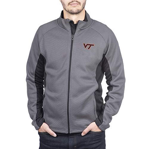 Spyder Virginia Tech Hokies Men's Constant Full Zip Sweater Gameday Jacket, X-Large