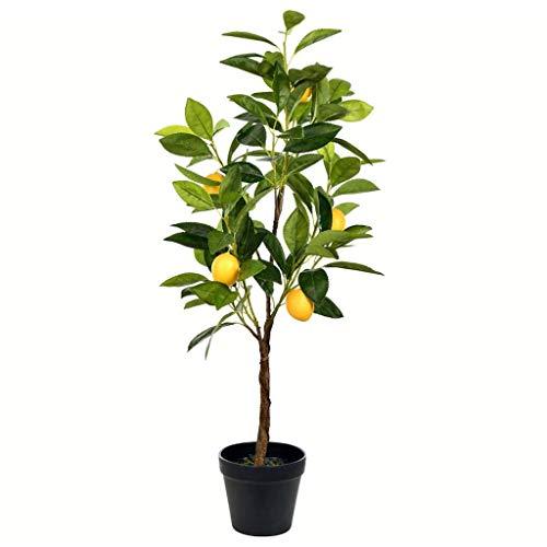 Vickerman Lemon Everyday Potted Tree, 28.3', Green