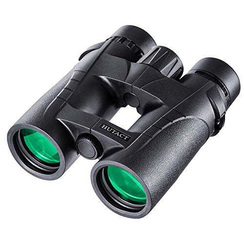8x42 Prismáticos Telescopio de Visión Nocturna con Poca Luz Ocular de 42 mm Revestimiento FMC para Caza Senderismo Adultos y Niños