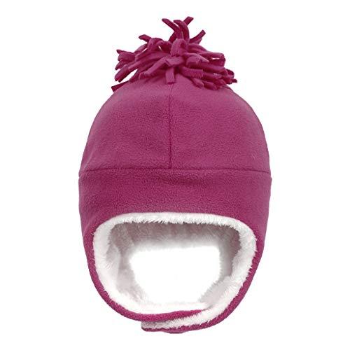 Jiamins Warme süße Babymütze für Jungen und Mädchen, mit Fleece gefüttert,...