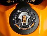 Adhesivo protector de tapa de motocicleta de resina de gel 3D compatible con KTM...