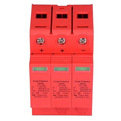 3P 3,0KV DC-Überspannungsschutz-Ableitergerät für Blitzschutz (3p40ka)