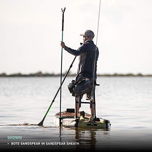 Stand Up Paddle Board Stakeout and Push Pole