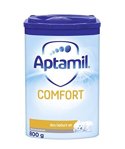 Aptamil Comfort, Babynahrung von Geburt an (0-3 Monate), Baby-Milchpulver (1 x 800 g)