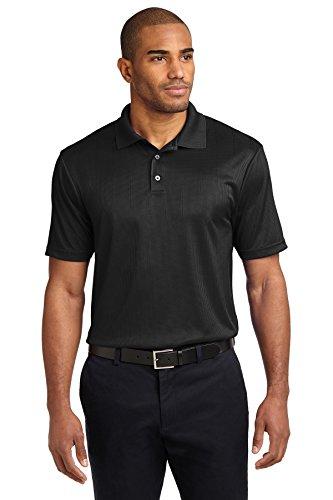Port Authority® Performance Fine Jacquard Polo. K528 Black 3XL