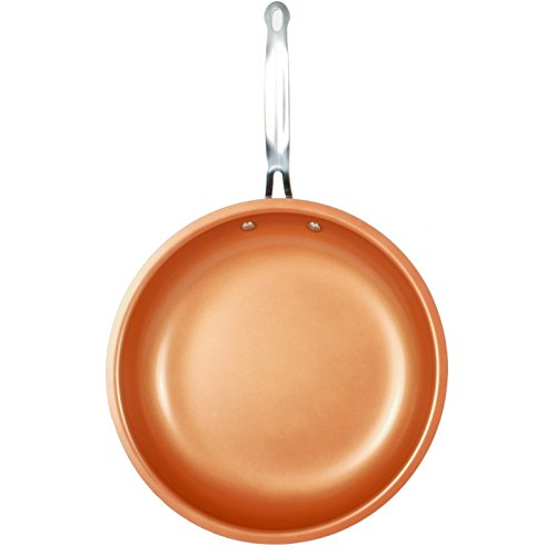 MasterPan Copper tone 12-inch Ceramic Non-stick Fry pan