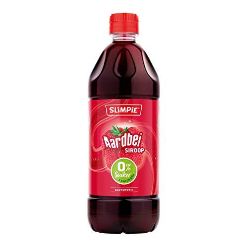 Slimpie Limonade Sirup Erdbeere zuckerfrei 6 PET-Flaschen x 58 cl