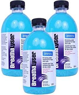 Breathalyser 3PACK Water Additive (1500 mL)