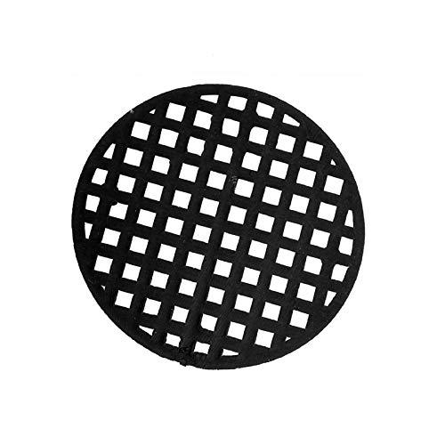 Kunststoff Blumentopf Mesh Pad Gitter Abdecknetz verhindern Boden Verlust auslaufsicher Pad korrosionsschutzes atmungsaktiv Matte (50stk Runde 4.5cm)