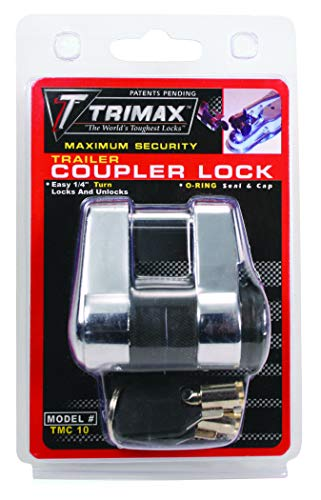 Trimax TMC10 Coupler / Door Latch Lock (fits couplers to 3/4