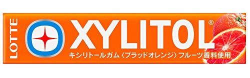 ロッテ キシリトールガム(ブラッドオレンジ) 14粒 ×20個
