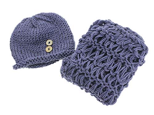 DELEY Unisexe Couverture de Bébé Chapeau Costume de Bébé de Vêtements Costume Crochet Tricot Photo Accessoires de 0 à 6 Mois