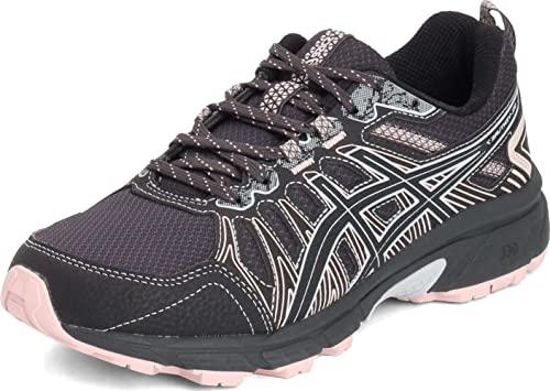ASICS Women's Gel-Venture 7 Running Shoes, 8, Graphite Grey/Black