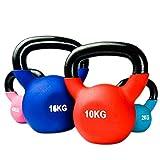 FANG Kettlebell 2kg/4kg/6kg/8kg/10kg/12kg/14kg/18kg/20kg Equipo De Entrenamiento De Gimnasio En Casa Fuerza Fitness Entrenamiento con Pesas Pilates