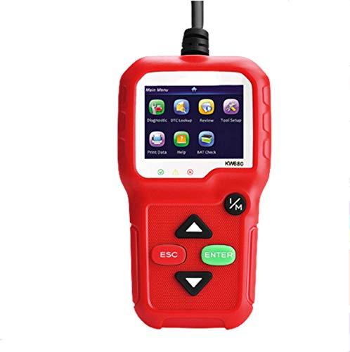 Obd2 Scanner Auto Fehlerdiagnose Scanner OBD Elektrisches Testwerkzeug Arbeitet An Allen Autos Mit Obd2/Eobd FüR Lesen Und LöSchen Fehlercode Und Batterie Test