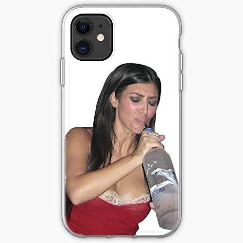 Alcohol Kim Up The Keeping with Funny West Kkw Kardashian Kardashians | Phone Case for iPhone 11, iPhone 11 Pro, iPhone XR, iPhone 7/8 / SE 2020