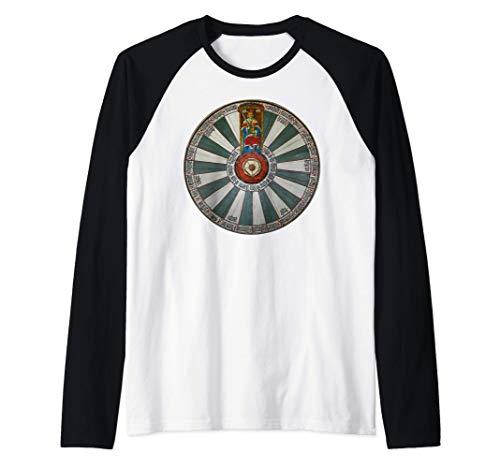 Mesa redonda de Winchester Camiseta Manga Raglan