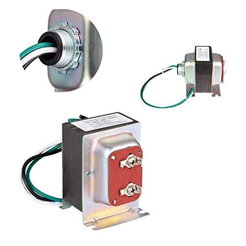 Wasserstein 16V 30VA Doorbell Transformer - Power Supply Compatible with Video Doorbell 1/Doorbell 2/Doorbell Pro, Nest Hello Doorbell, eufy Security Doorbell, and Arlo Video Doorbell