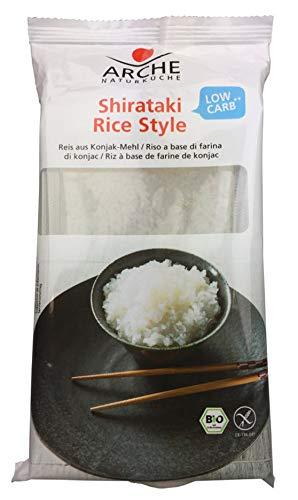 Arche Bio Shirataki Rice-Style Konjak-Nudeln, glutenfrei, 294 g