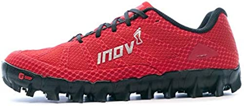 Inov-8 Mudclaw 275 - Trail Running OCR Shoes - Soft Ground - for Obstacle, Spartan Races and Mud Running - Red/Black - 13