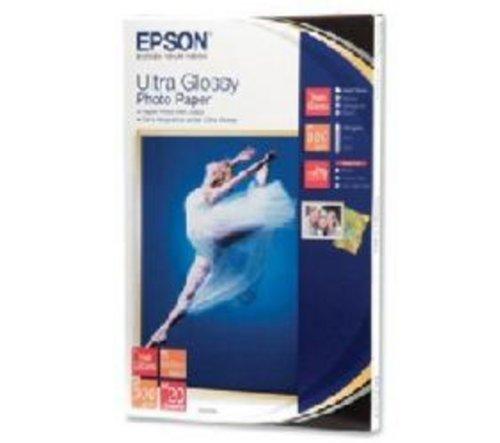 Epson C13S041926 - EPSON Ultra Glossy Photo Papier, 10x15cm, 20 Blatt, 300g
