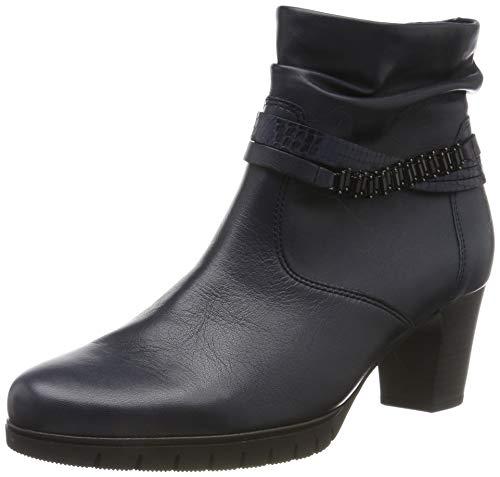 Gabor Shoes Damen Comfort Basic Stiefeletten, Blau (Ocean (Micro) 56), 39 EU