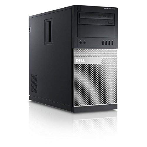 Dell Optiplex 7010 MT Intel Core i7-3770, 16GB, 240GB SSD + 2TB, DVDRW, Windows 10 Pro Mini Tower (Renewed)