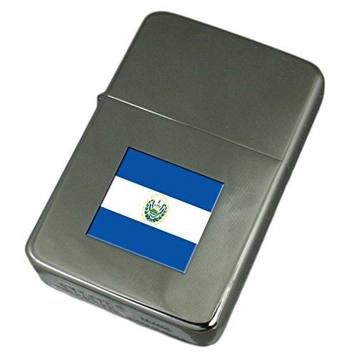 Select Gifts Accendino inciso El Salvador Bandiera