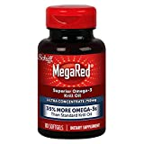 Schiff Mega Red High Concentration 750mg- Multipack of 160 Softgels TOTAL