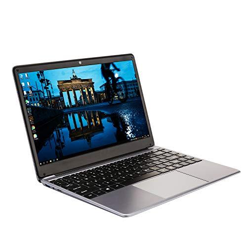Portátil de 14,1 Pulgadas (procesador Intel celeron_j3455 de Cuatro núcleos y 64 bits, 8 GB de RAM, SSD de 128 GB), Uso Duradero de una batería de Gran Capacidad de 10000 mAh, Windows 10 Pro
