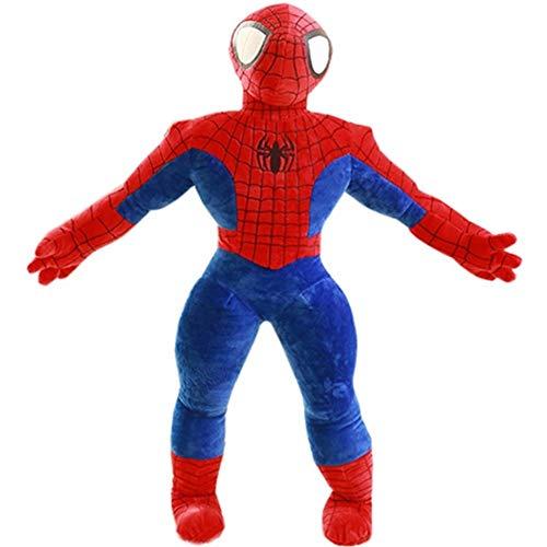 HUOQILIN Plush Toys Cartoon Spider Man Doll Queen Pillow Doll Birthday Gift (Size : 100cm)