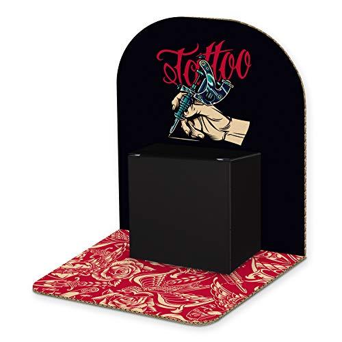 itenga Geldgeschenk Basic I Motiv Tattoo I Mitbringsel I Gutschein I Geschenkverpackung zum Aufstellen inkl. Geschenkbox