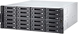 QNAP TVS-2472XU-RP-i5-8G-US 24 Bay Rackmount NAS with Redundant Power Supply and 8th Gen Intel Core i5 Processor. 8GB RAM. Built-in Mellanox ConnectX-4 Lx 10GbE Controller. iSER Supported.