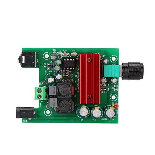 Hakeeta TPA3116 D2 DC 8-25V 100W Módulo de Placa de Amplificador Digital de subwoofer de Potencia Mono con OPAMP NE5532