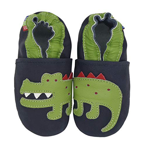 Carozoo Crocodile Dark Blue 3-4y