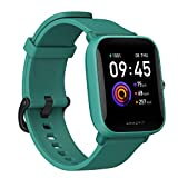 Amazfit Bip U Smartwatch Fitness Reloj Inteligente 60+ Modos Deportivos 1.43' Pantalla táctil a Color Grande 5 ATM (SpO2) Oxígeno en Sangre Frecuencia Cardíaca (Verde)