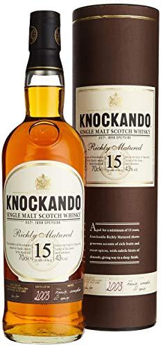 Knockando 15 Jahre alt Richly Matured Whisky mit Geschenkverpackung (1 x 0.7 l)