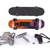 RVTYR 7-Couche d'érable Longboard électrique Longboard Planche à roulettes, Skate-Board électrique avec télécommande sans Fil Conseil for Adultes et Adolescents Longboard Electrique Adulte