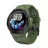 LVF 2021 New K22 Smart Watch, Fitness Men's Bluetooth Llamada Multifunción Music Control Music Reloj De Alarma Recordatorio Deportes Smart Watch El Teléfono Es Adecuado para iOS Y Android,A