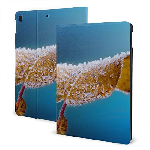 Close Up Frost Hd Behang IPad Lederen Hoes, Zachte Rubber Back Cover, Verstelbare Standaard, Automatische Wake/Sleep Smart Case, Geschikt voor Ipad Air3 10.5