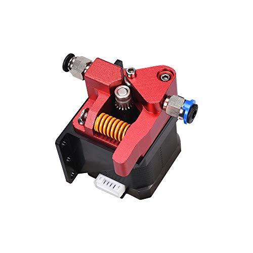 Bigtreetech 3D Printer Upgrade Dual Gear Extruder, MK8 extruder Dual Driver Metal extruder kit CR-10S Pro/CR-10/CR-10S/Ender3/Ender 3 pro 1.75mm Filament