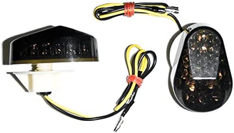 Krator Flush Mount LED Turn Compat Signals Indicators free shipping Smoke specialty shop Lens