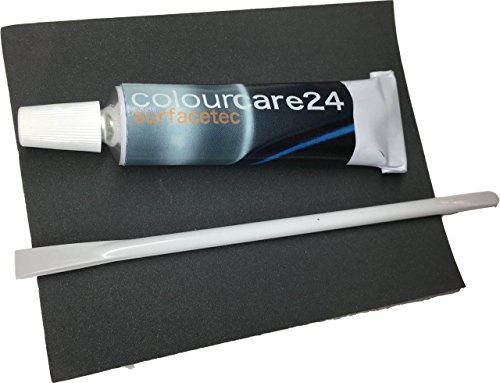 Cuir Liquide Gris poudre 9 ml pour rétablir trous découpes en cuir cuir similicuir cuir de siège de voiture Moto intérieur salon veste Fauteuil sac gris RAL 7037 de Cartable couleurs