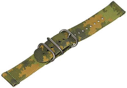 Suunto, Traverse, Cinturino in Tessuto, Unisex - Adulto, Woodland/Black