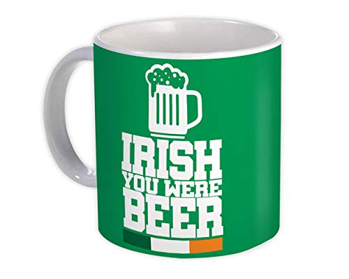 Irlandés, eras cerveza : Regalo Jarra : Deseo St. Patrick Paddy Irlanda Shamrock