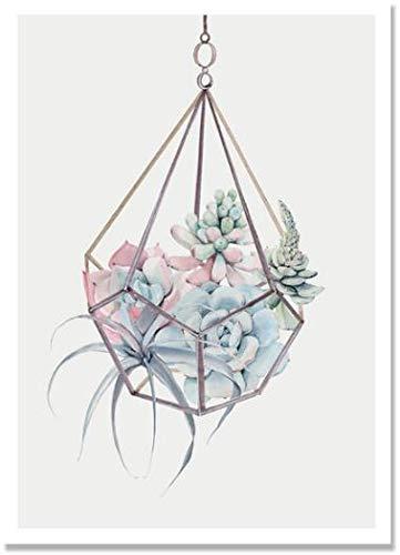 Pintura de diamante taladro redondo completo 5D DIY'paisaje de flores' bordado de diamantes de imitación punto de cruz decoración A5 40x50cm
