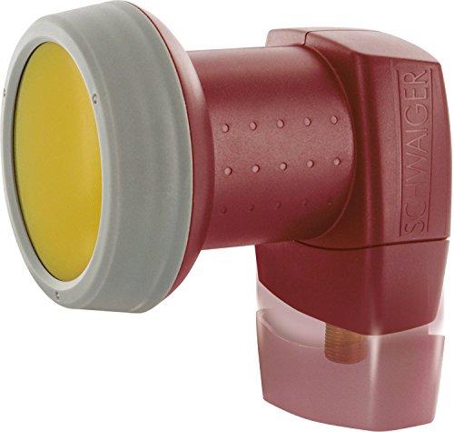 SCHWAIGER -326- LNB singolo con protezione solare | 1 partecipante | cappuccio LNB estremamente resistente al calore | multifeed capace | protezione dalle intemperie | contatti placcati in oro