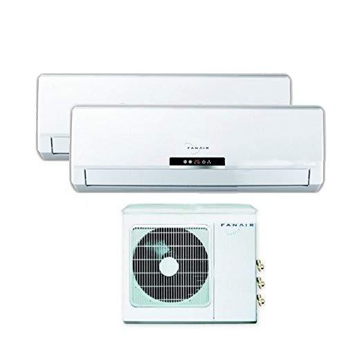 Klimaanlage Dual Split 12000+ 12000DC Inverter Klasse A +/A + fanair–Fantini Cosmi